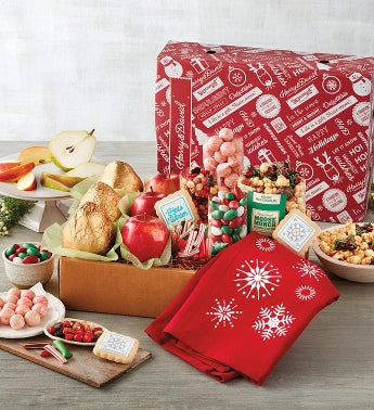 Classic Happy Holidays Gift Box