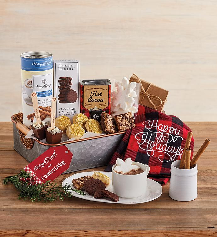 Hot Cocoa Serving Tray Gift