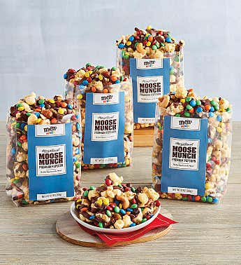 Moose Munch® Premium Popcorn M&M'S® Minis 4-Pack