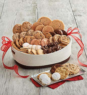 Deluxe Valentine's Day Cookie Gift Basket