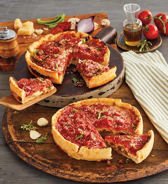 Pizzeria Uno174 Deluxe Meat Lover39s Deep Dish Pizza 2-Pack