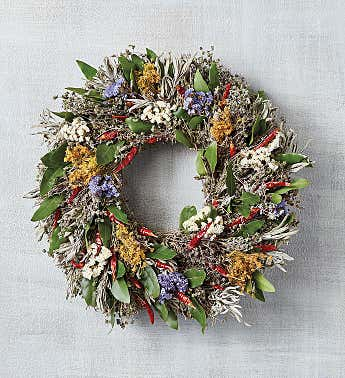 Chili Herb Wreath