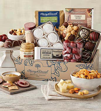 Gourmet Snacks and Treats Gift Box