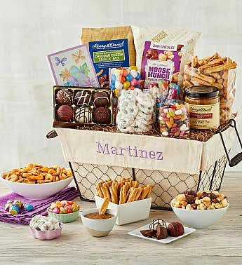 Personalized Easter Treats Gift Basket
