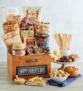 Deluxe Father's Day Chalkboard Crate