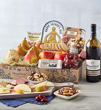 Father's Day Gift Box with Wine