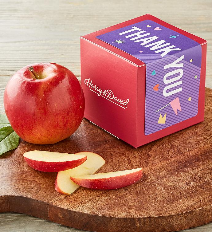 """Thank You"" Single Apple Gift"
