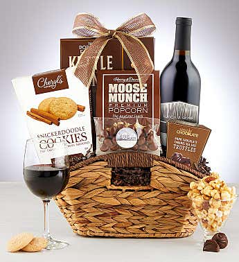 Premier Favorites Wine Gift Baskets