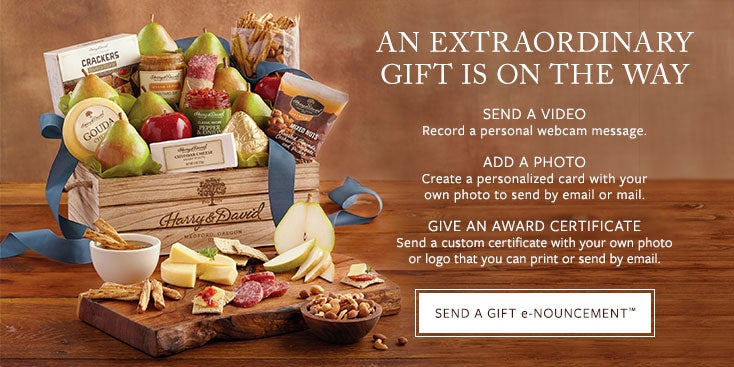 AN EXTRAORDINARY GIFT IS ON THE WAY - SEND A GIFT e-NOUNCEMENT™