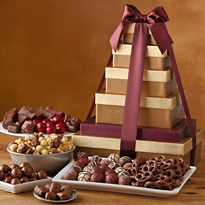 Deluxe Tower of Chocolates Gift