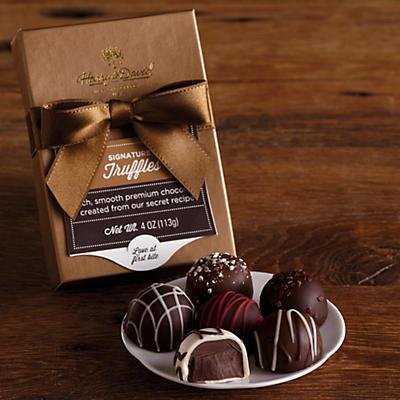12 Signature Chocolate Truffle Samplers