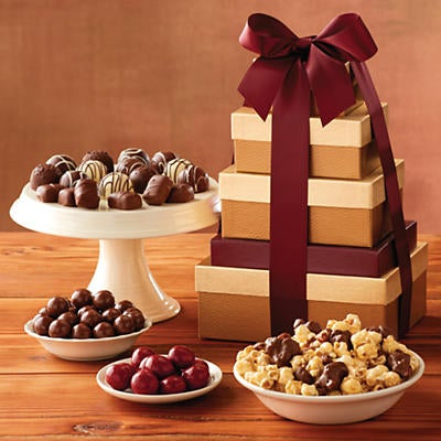 Classic Tower of Chocolates Gift