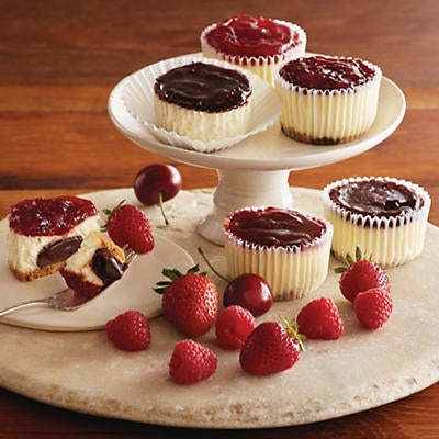 Chocolate Truffle Cheesecake Cupcakes