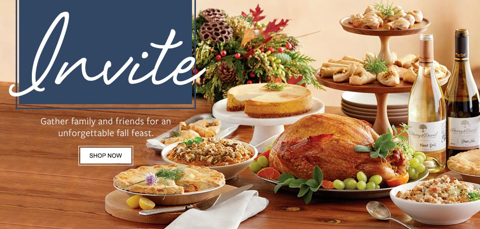 Invite. Gather family and friends for an unforgettable fall feast.  SHOP NOW