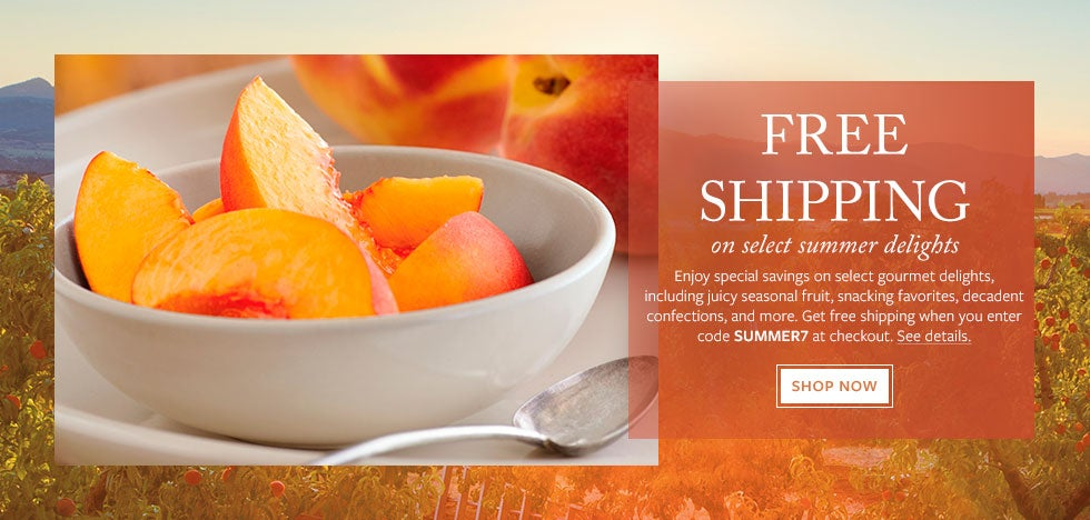 FREE SHIPPING on select summer delights. Shop Now.