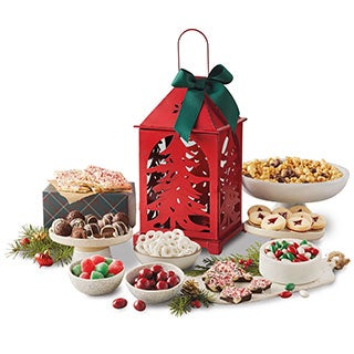 Holiday Sweets Lantern Gift