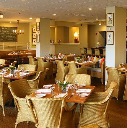 Larks Restaurant Ashland interior