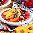 Berry Peach Smoothie Bowl Recipe thumbnail image 1