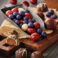 Truffles and Chocolate-Covered Fruit