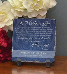 Mother's Love Stone Plaque