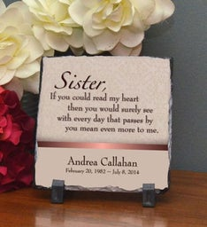 Sister Means More Small Plaque