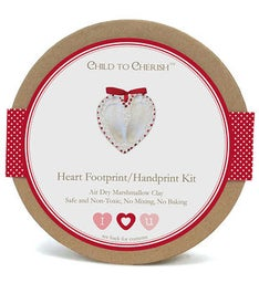 Heart FootprintHandprint Kit