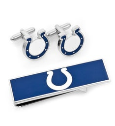 Indianapolis Colts Cufflinks and Money Clip Gift Set