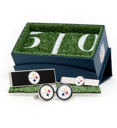 Silver Pittsburgh Steelers 3-Piece Gift Set