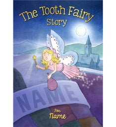 Personalized Tooth Fairy Hardcover Storybook