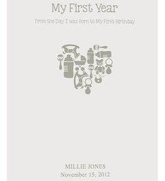Washington Post - My First Year Baby Book