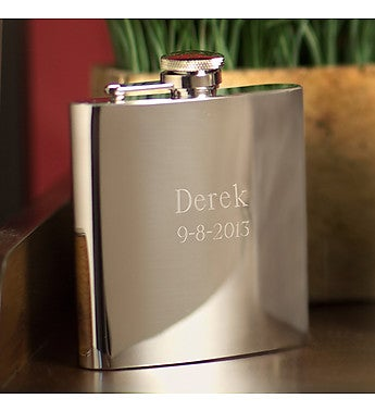 Personalized Mirror Flask
