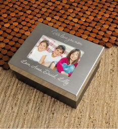 Personalized Lasting Memories Keepsake Box for Mom
