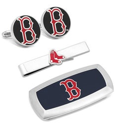 Boston Red Sox 3-Piece Cushion Gift Set