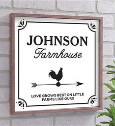 Personalized Love Grows Best Wall Dcor