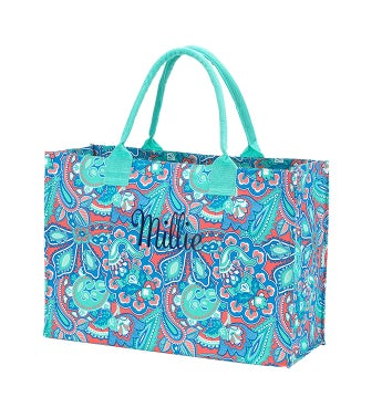 Personalized Island Bliss Tote