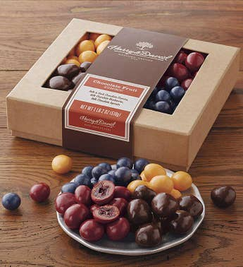 Harry & David Chocolate Covered Fruits Box