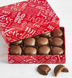 Fannie May Valentine Wrap Pixies Chocolates 1 LB