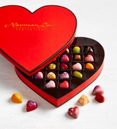 Norman Love Confections Heart Box