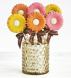 Fannie May Sweet Chocolate Daisy Pops