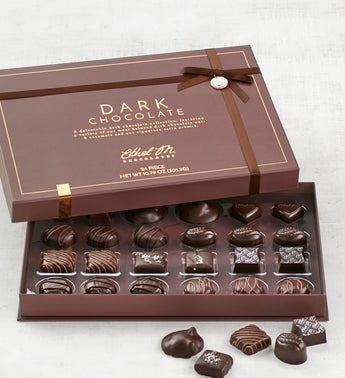 Ethel M Milk  Dark Sea Salt Caramels  24pc