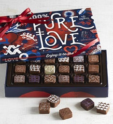 Max Brenner 18 Pc Pure Love Chocolate Bon Bon Box