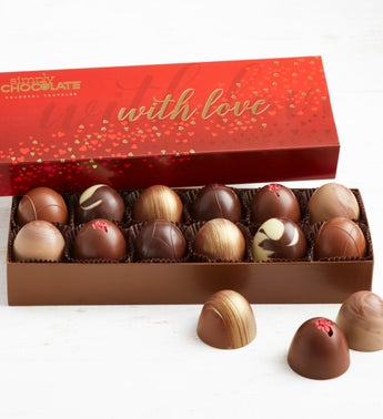 Simply Chocolate With Love Colossal Truffles
