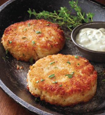 Crab Cakes - Six 325-Ounce Pieces