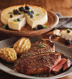 Bone-In New York Strip Steak Meal