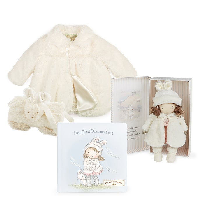 Glad Dreams Coat  Doll Heirloom Gift Bundle