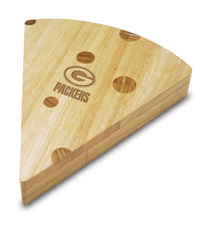 Green Bay Packers Swiss Cheese Board