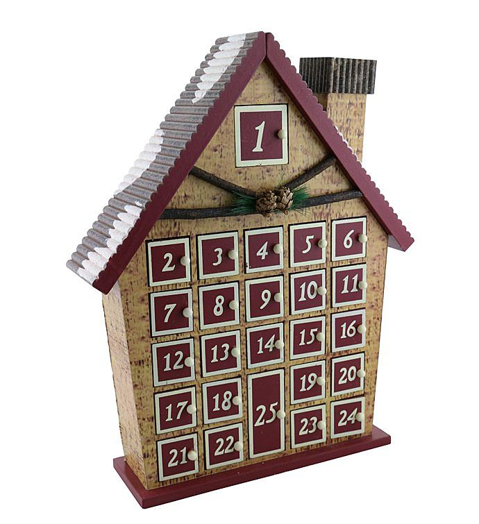 Log Cabin Advent Calendar