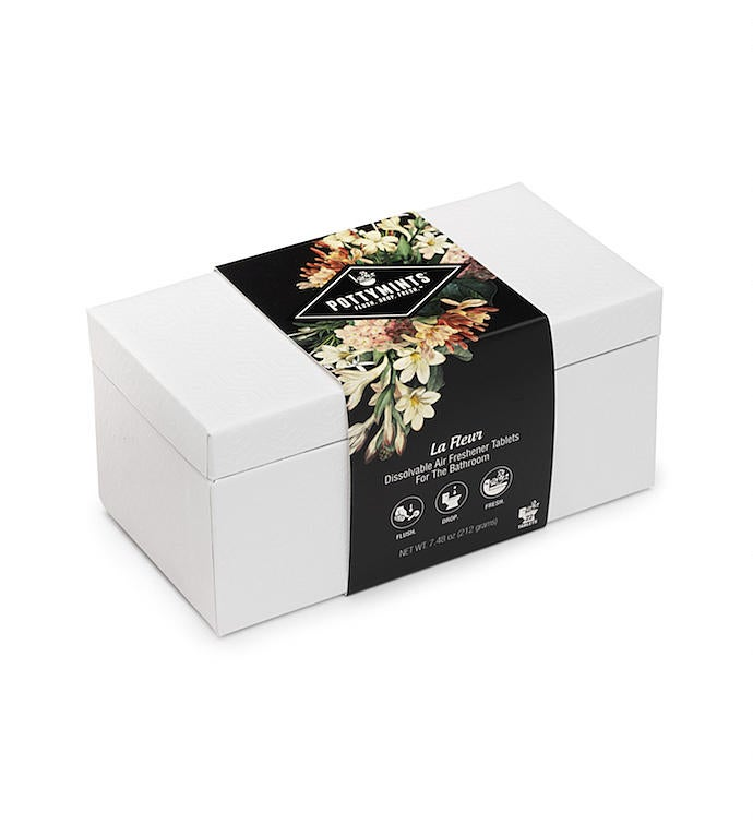 Pottymints  White Display Box