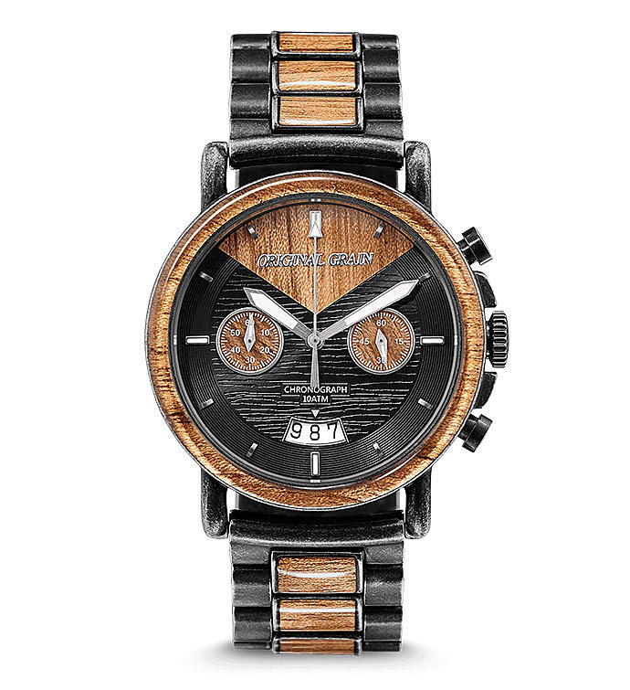Koa Wood Chronograph