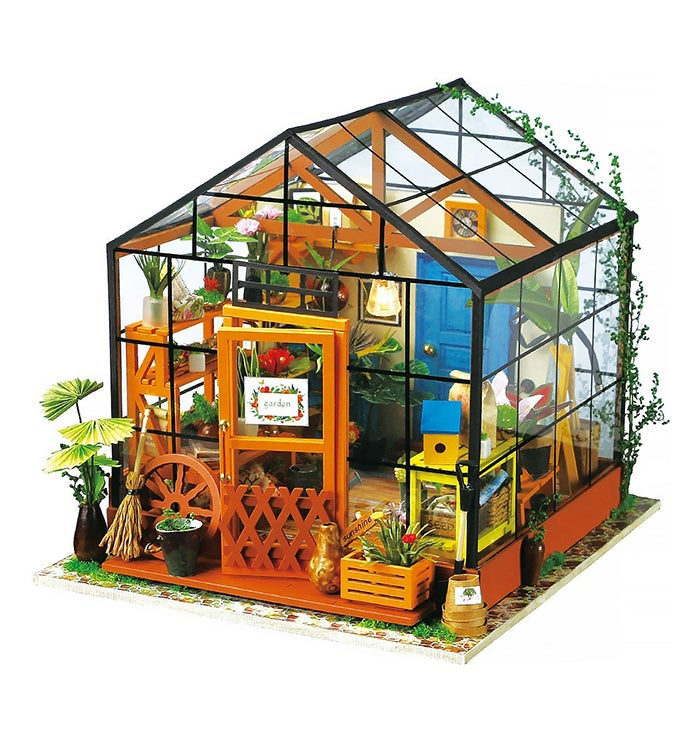 Diy Dollhouse Kit - Cathy39s Flower House